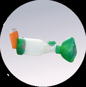 La chambre d'inhalation TipsHaler pour les traitements inhalés de l'asthme et des maladies respiratoires