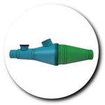 Caractéristiques de la chambre d'inhalation CombiHaler pour circuit de ventilation mécanique