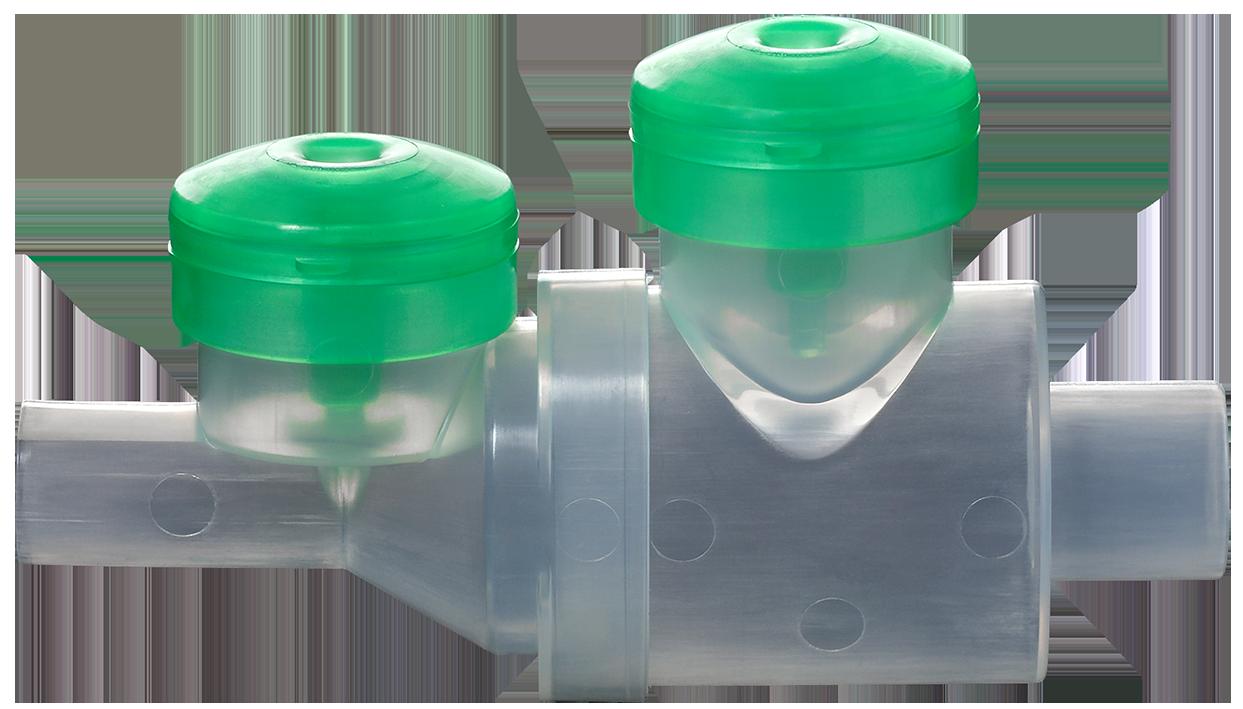 MinimHal : Chambre d'inhalation pour circuit de ventilation mécanique pour aérosol-doseur et nébuliseur