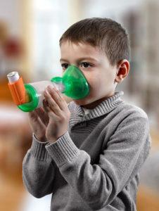 TipsHaler® avec masque OrHal® pédiatrique