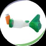Masque adulte OrHal® pour chambre d'inhalation