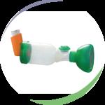 Masque nourrisson OrHal® pour chambre d'inhalation