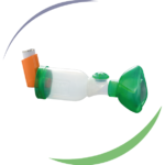 Masque pédiatrique OrHal® pour chambre d'inhalation