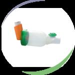 La chambre d'inhalation TipsHaler®, sans masque